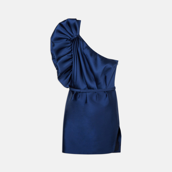 Polly Sapphire Mini Dress