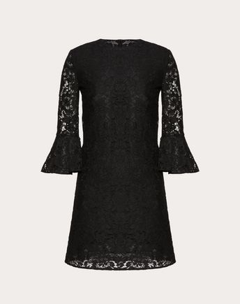 VALENTINO Embroidered dress D Dress with embroidered butterflies f