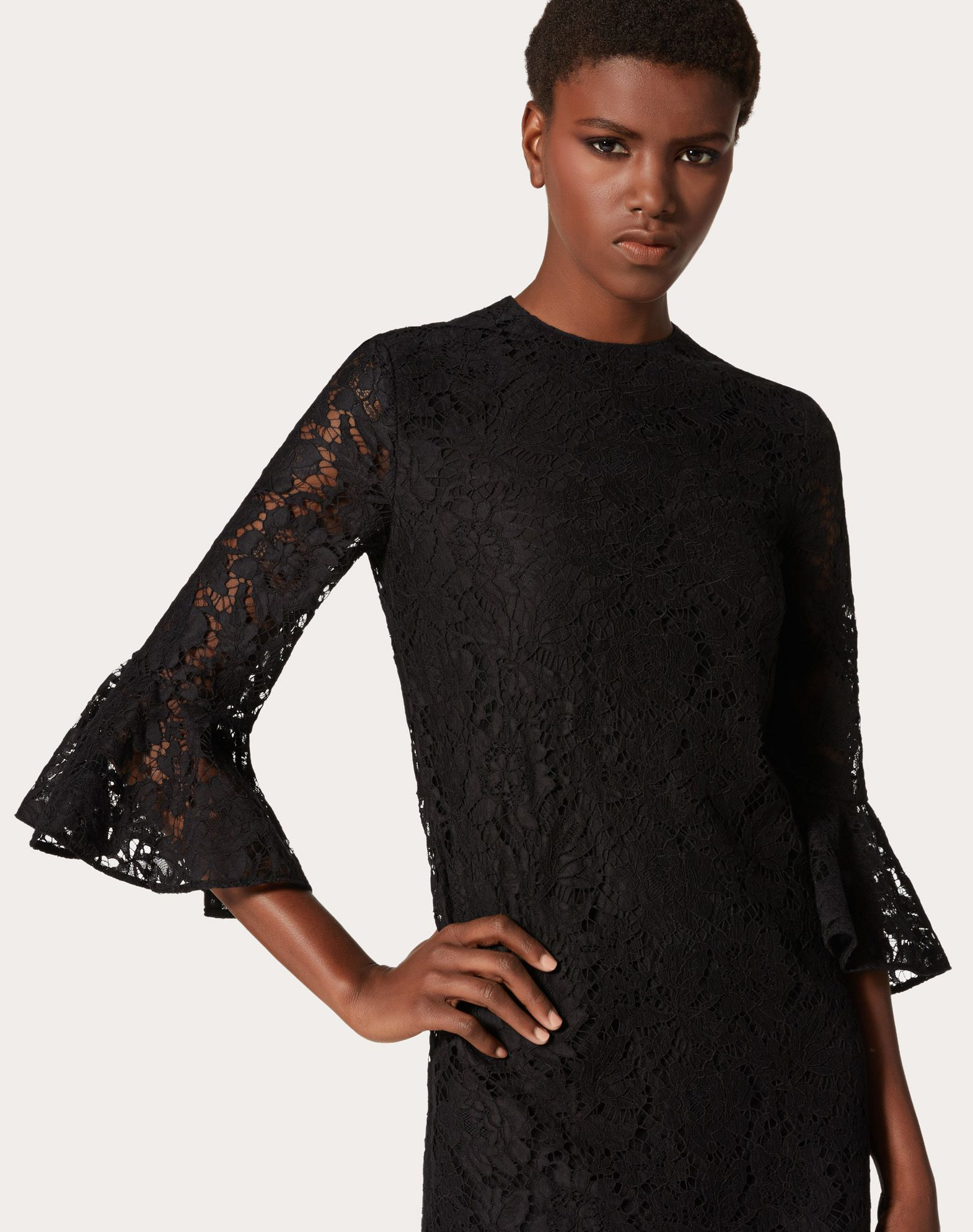 VALENTINO Heavy lace dress Dress D a