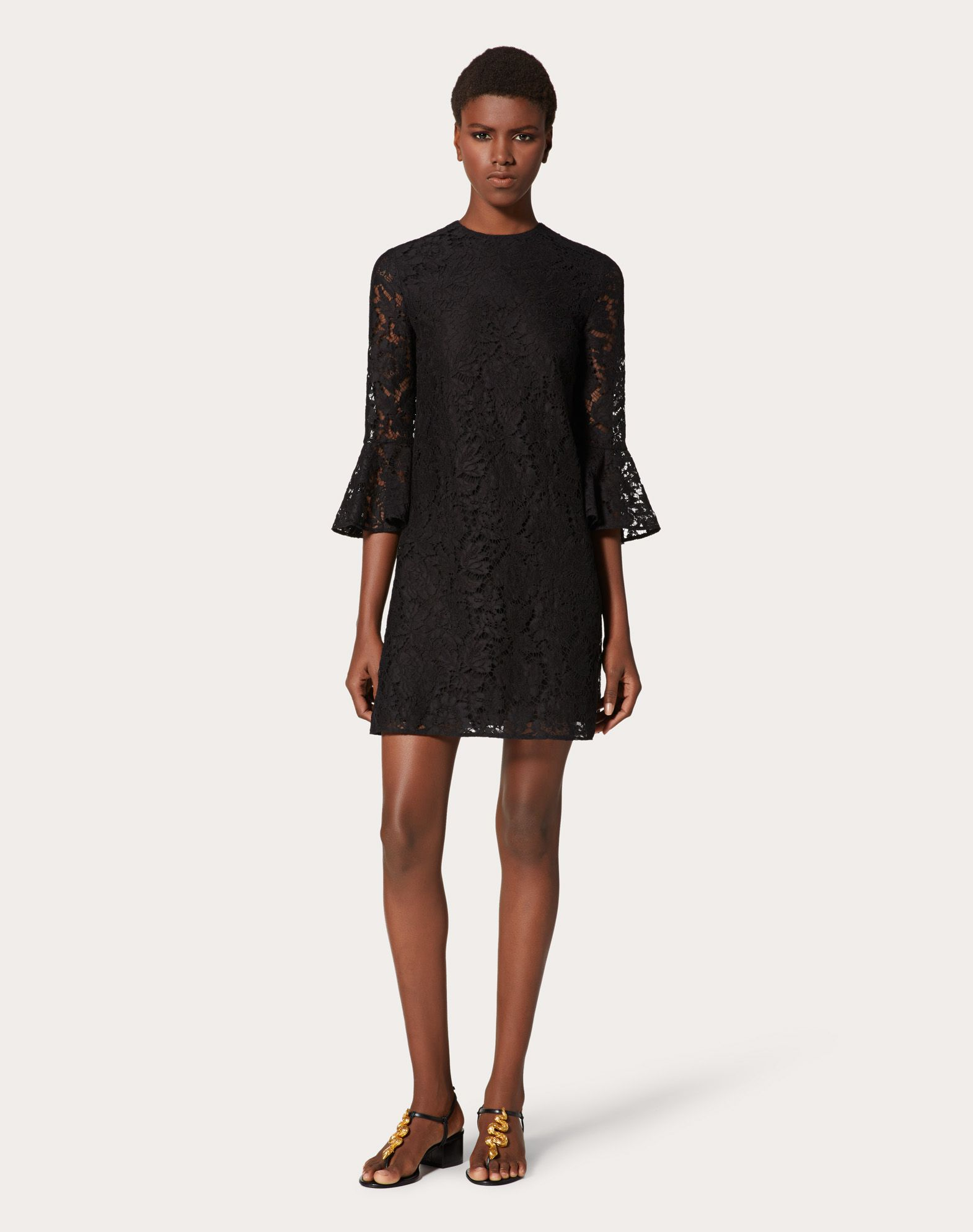 VALENTINO Heavy lace dress Dress D d