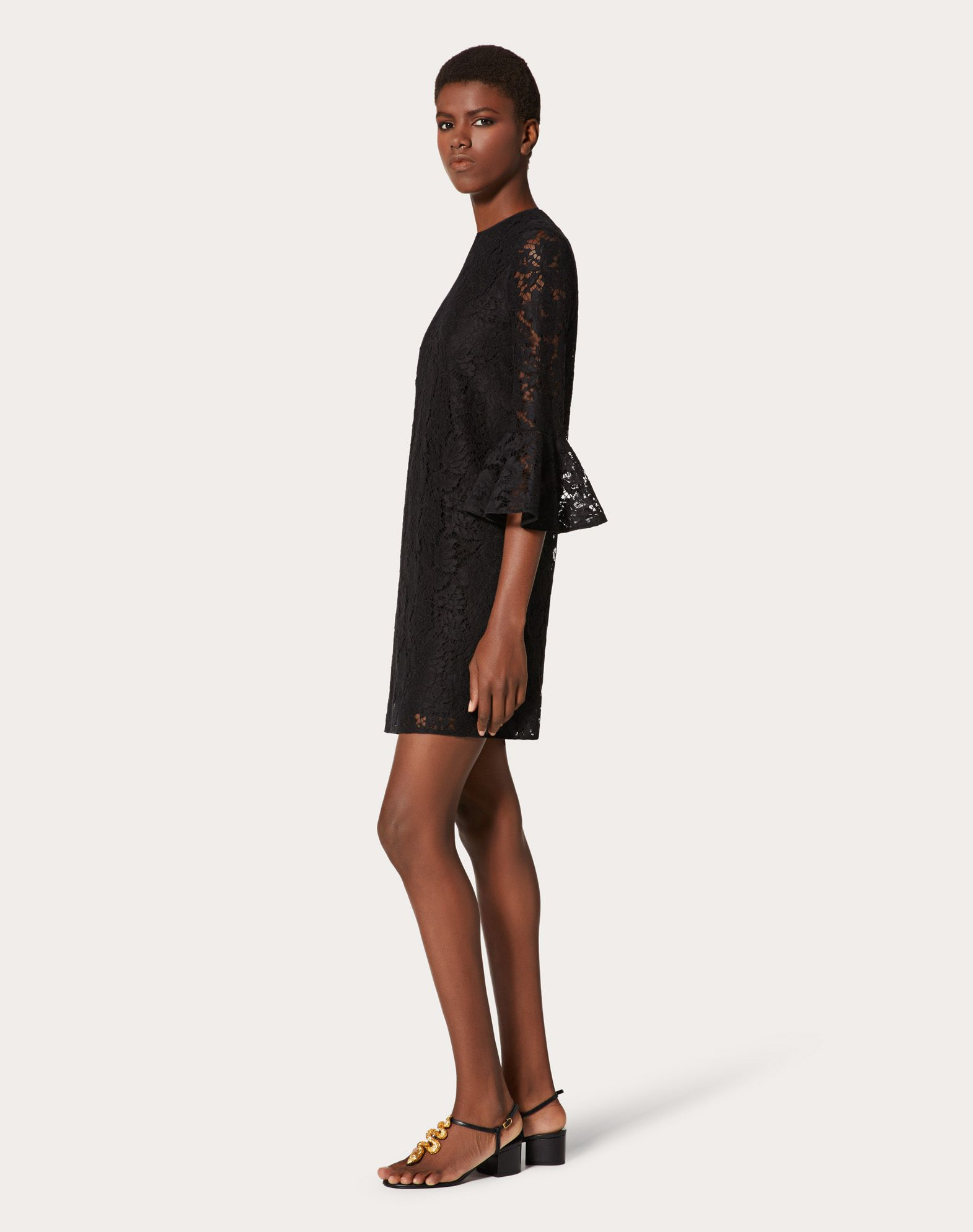 VALENTINO Heavy lace dress Dress D r