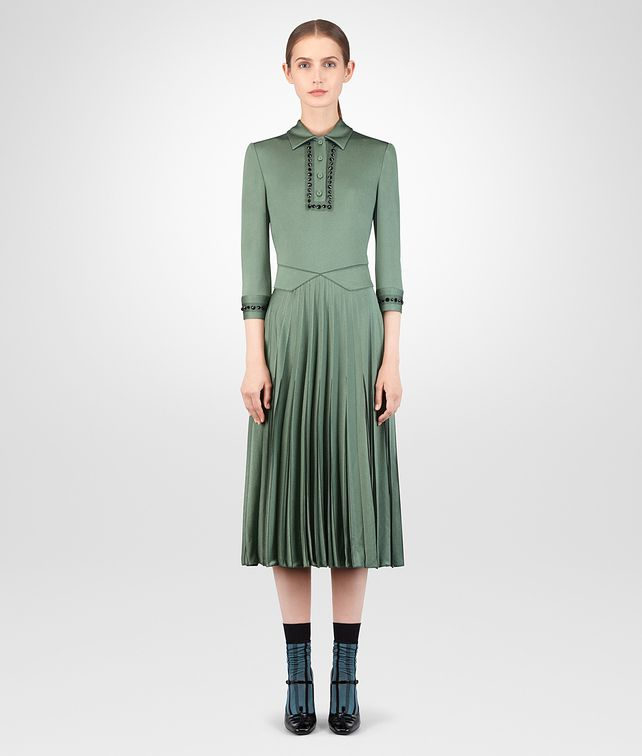 BOTTEGA VENETA THYME VISCOSE DRESS Dress Woman fp