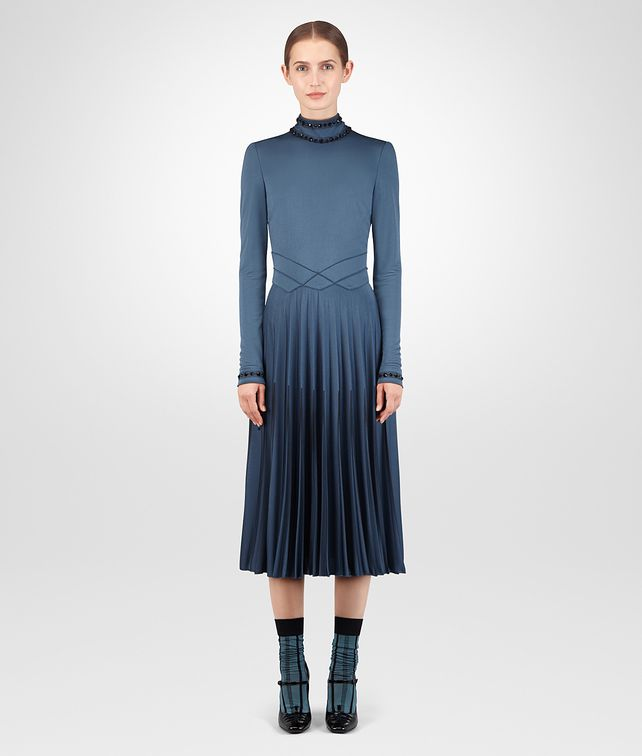BOTTEGA VENETA DENIM VISCOSE DRESS Dress Woman fp