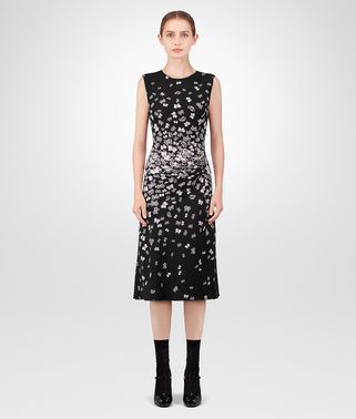 NERO TRIACETATE DRESS
