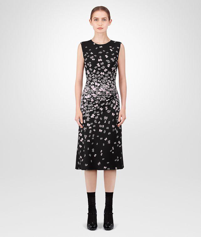 BOTTEGA VENETA NERO TRIACETATE DRESS Dress [*** pickupInStoreShipping_info ***] fp