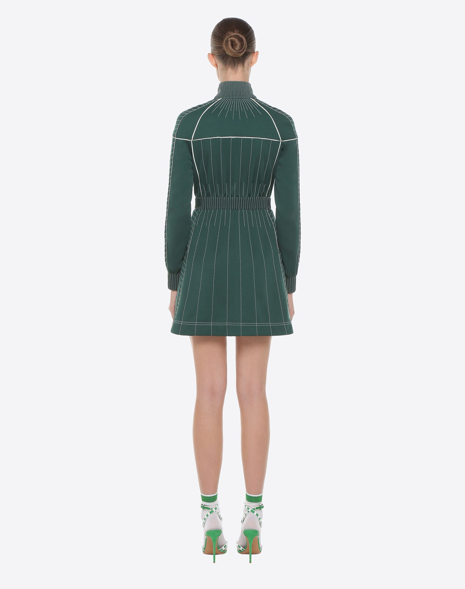 VALENTINO Techno Jersey Dress Dress D e