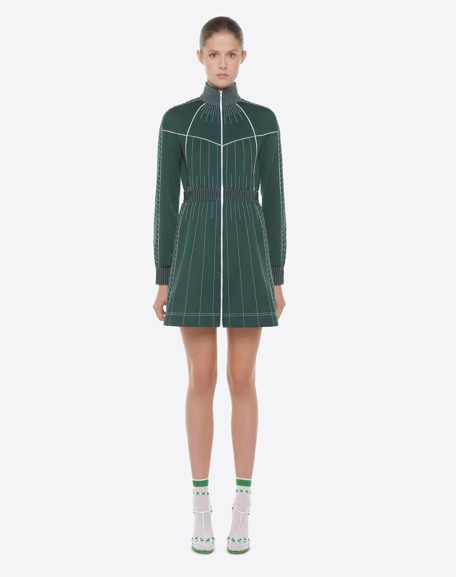 VALENTINO Techno Jersey Dress Dress D r
