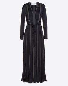 VALENTINO Dress D Hammered Satin Dress f