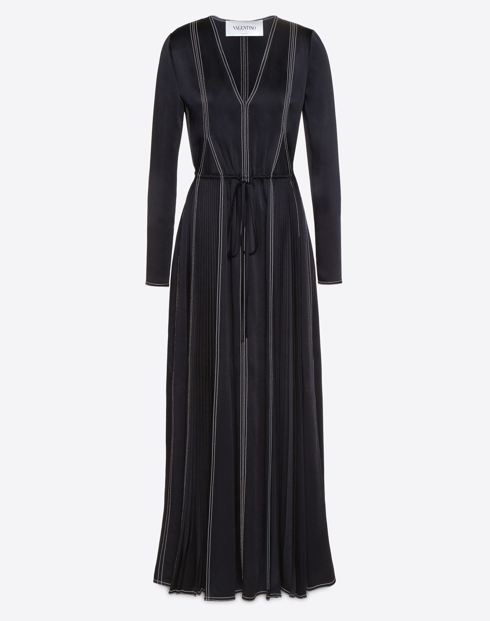 Buy Cheap Pictures Black drawstring dress Valentino Clearance The Cheapest 677ipHCmb