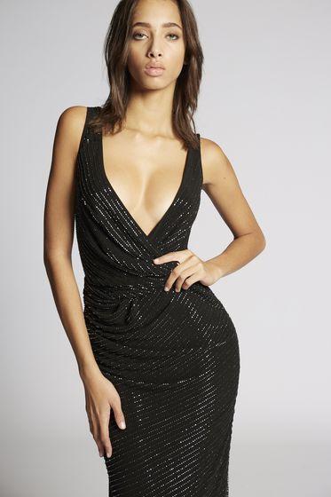 DSQUARED2 连衣裙 女士 S72CU0724S23227001S b