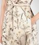 BOTTEGA VENETA BOTANICAL PRINT TECH DUCHESSE DRESS Dress Woman ap
