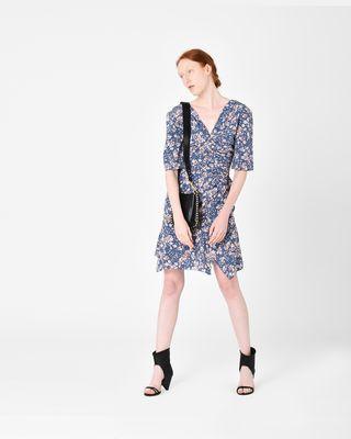 BRODIE floral print dress
