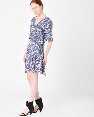 ISABEL MARANT SHORT DRESS Woman BRODIE floral print dress r