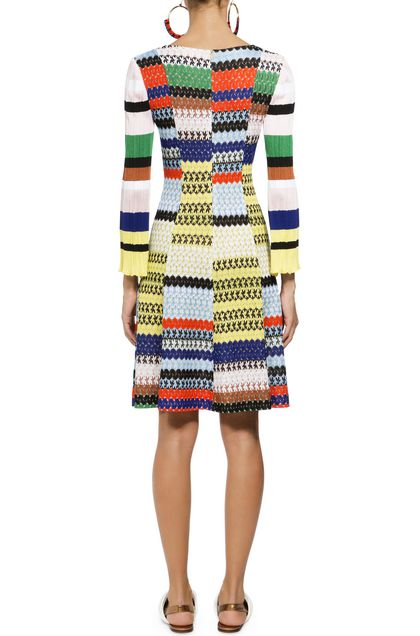 MISSONI Dress Yellow Woman - Front