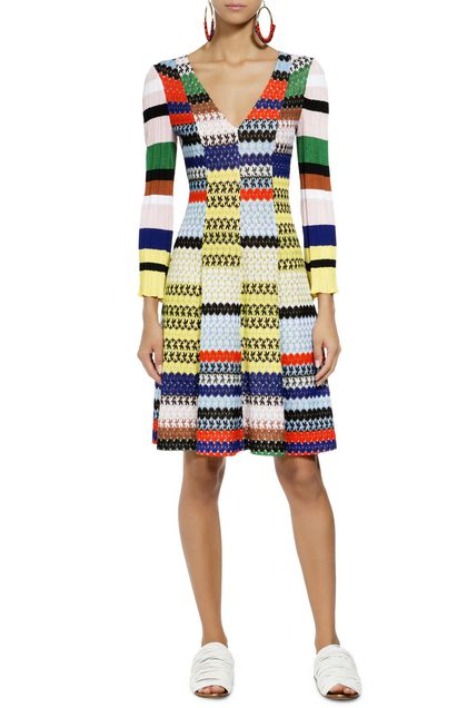 MISSONI Dress Yellow Woman - Back