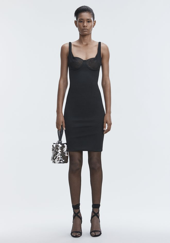 ALEXANDER WANG gift-guide RUCHED BODYCON DRESS