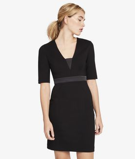 KARL LAGERFELD FITTED PUNTO DRESS