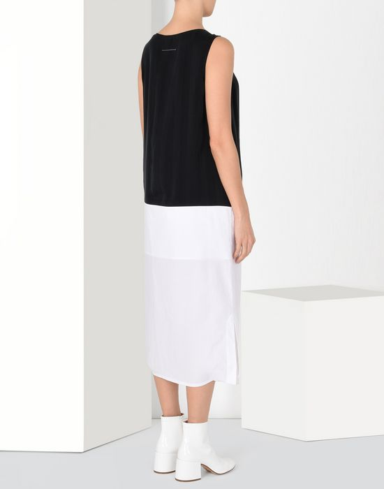 MM6 MAISON MARGIELA Mid-length cupro dress Long dress [*** pickupInStoreShipping_info ***] d