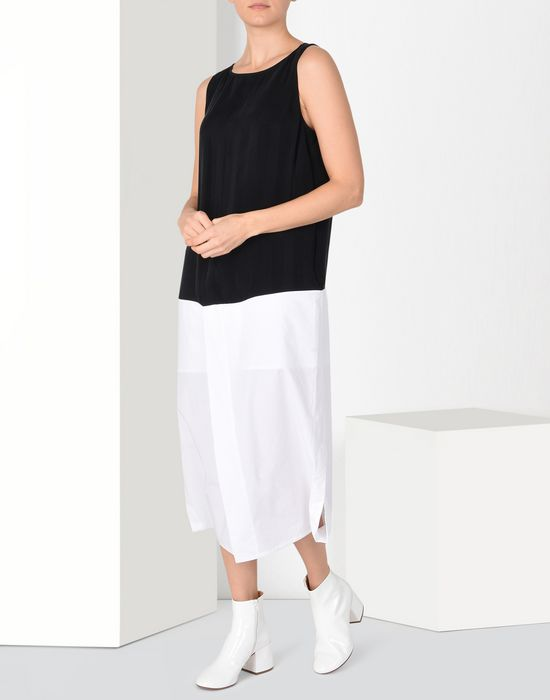 MM6 MAISON MARGIELA Mid-length cupro dress Long dress [*** pickupInStoreShipping_info ***] r