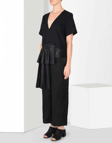 MM6 MAISON MARGIELA Romper suit Woman Pleated jumpsuit f