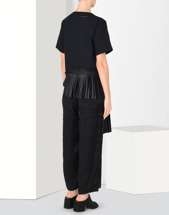 MM6 MAISON MARGIELA Pleated jumpsuit Romper suit [*** pickupInStoreShipping_info ***] d