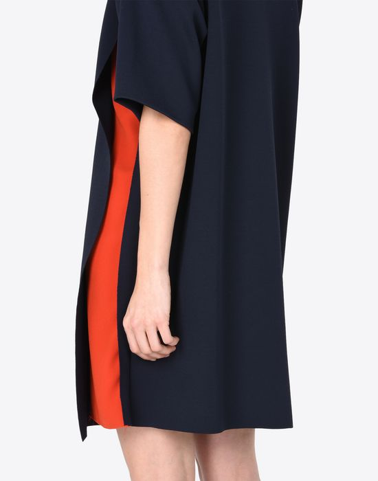 MAISON MARGIELA Jersey t-shirt dress with cut-outs Short dress Woman a