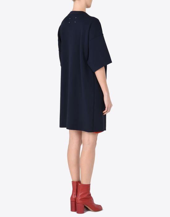 MAISON MARGIELA Jersey t-shirt dress with cut-outs Short dress Woman e