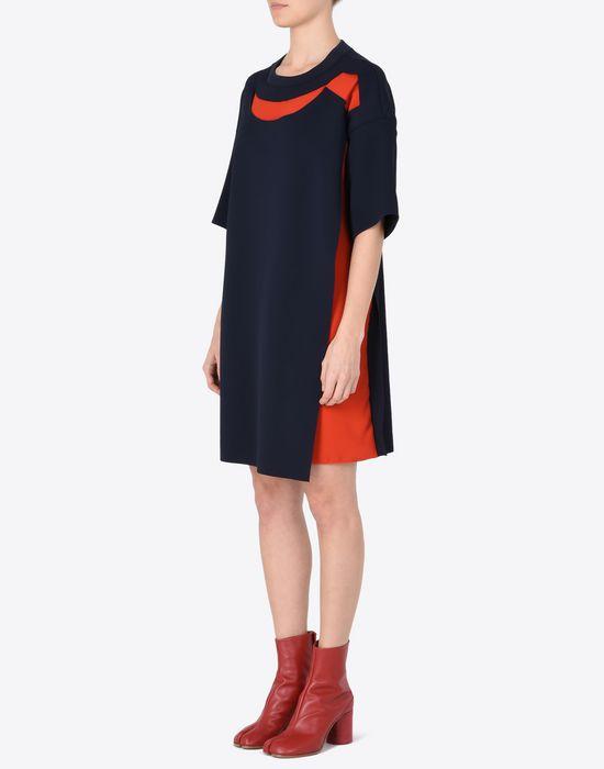 MAISON MARGIELA Jersey t-shirt dress with cut-outs Short dress Woman r