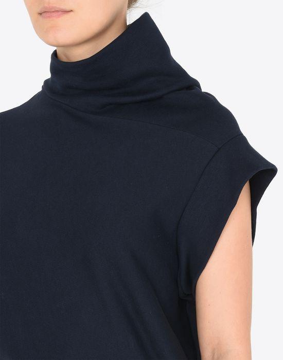 MAISON MARGIELA Asymmetric sweatshirt dress 3/4 length dress [*** pickupInStoreShipping_info ***] a