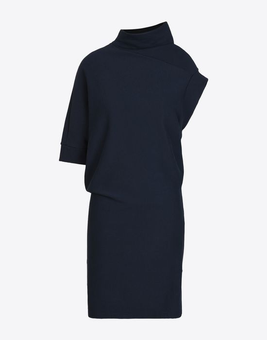 MAISON MARGIELA Asymmetric sweatshirt dress 3/4 length dress Woman f
