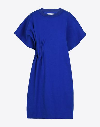 MAISON MARGIELA Short dress Woman Oversized asymmetric cotton dress f