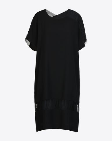 MAISON MARGIELA 3/4 length dress Woman Cady cut-out dress f