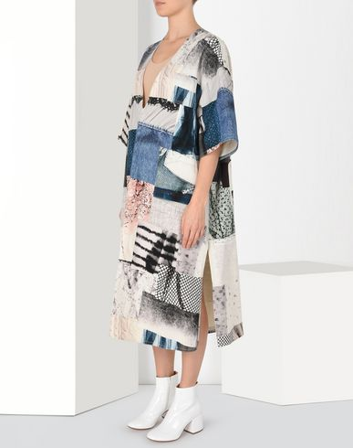 MM6 MAISON MARGIELA 3/4 length dress Woman Oversized patchwork dress f