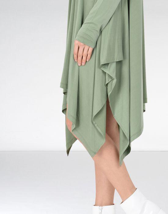 MM6 MAISON MARGIELA Draped asymmetric jersey dress  Short dress Woman a