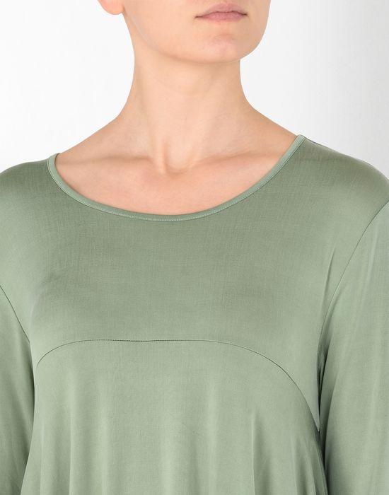 MM6 MAISON MARGIELA Draped asymmetric jersey dress  Short dress Woman e