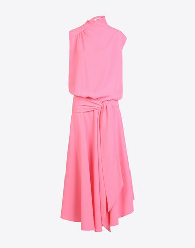 MAISON MARGIELA Long dress D Draped cady dress f