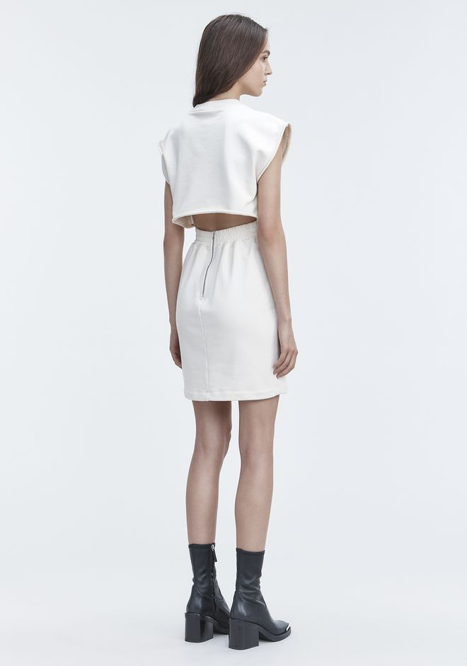 T by ALEXANDER WANG Short Dresses CINCH WAIST DRESS