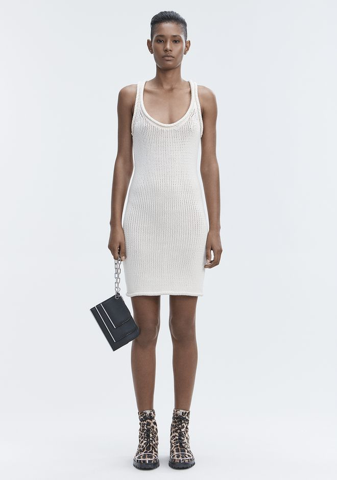 T by ALEXANDER WANG Short Dresses KNIT TANK DRESS