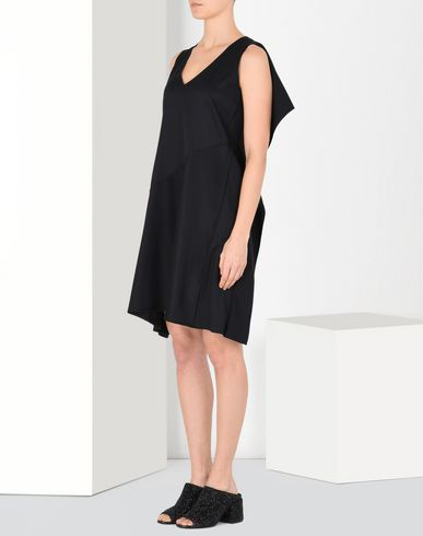 MM6 MAISON MARGIELA Short dress Woman Square-back dress f