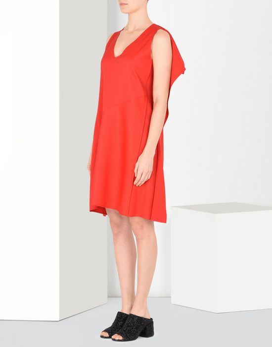 MM6 MAISON MARGIELA Square-back dress Short dress Woman f