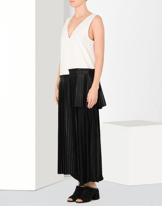 MM6 MAISON MARGIELA Pleated ankle-length dress Long dress Woman f