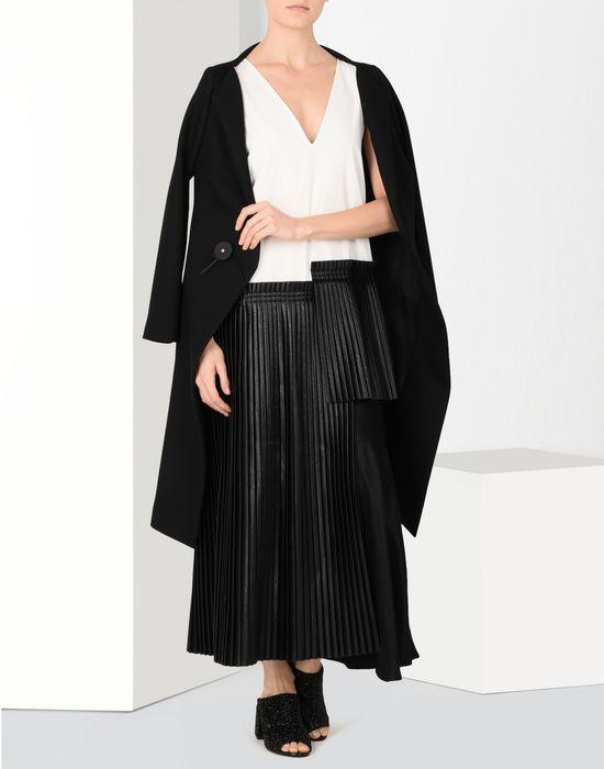 MM6 MAISON MARGIELA Pleated ankle-length dress Long dress Woman r
