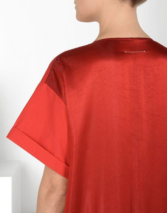 MM6 MAISON MARGIELA Drop waist pleated dress 3/4 length dress [*** pickupInStoreShipping_info ***] a