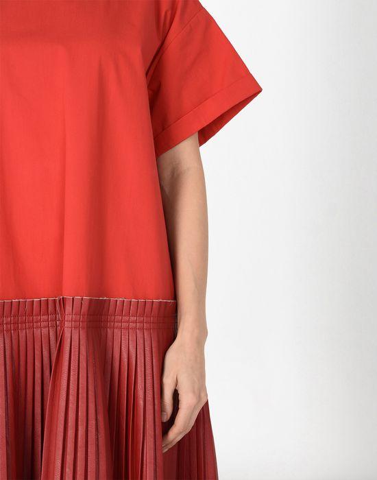 MM6 MAISON MARGIELA Drop waist pleated dress 3/4 length dress [*** pickupInStoreShipping_info ***] e