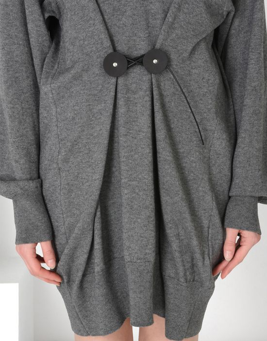 MM6 MAISON MARGIELA Twist tie sweater dress Short dress [*** pickupInStoreShipping_info ***] a