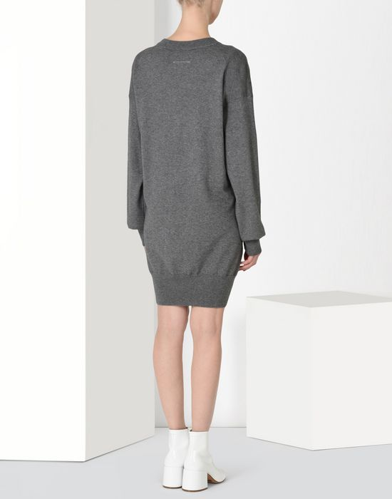 MM6 MAISON MARGIELA Twist tie sweater dress Short dress [*** pickupInStoreShipping_info ***] d