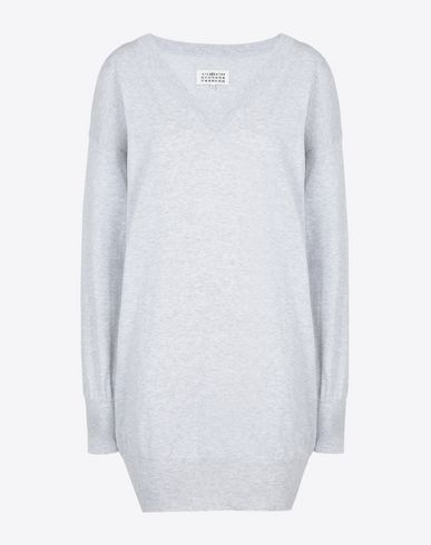 MAISON MARGIELA Short dress D Cotton sweater dress f