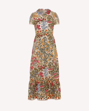 REDValentino PR3VA08K3H2 404 Embroidered dress Woman a