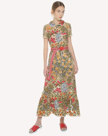 REDValentino PR3VA08K3H2 404 Embroidered dress Woman d