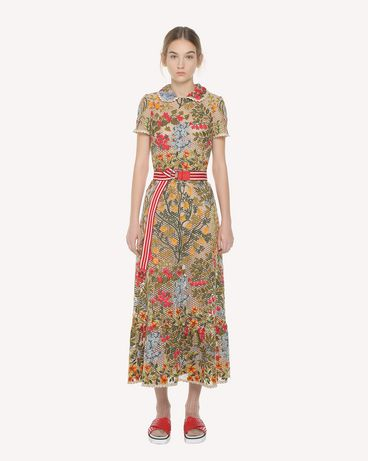 REDValentino PR3VA08K3H2 404 Embroidered dress Woman f